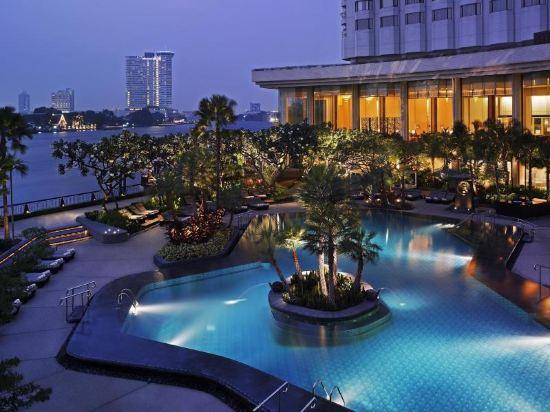 曼谷香格里拉大酒店(Shangri-La Hotel Bangkok)香格里拉樓豪華客房