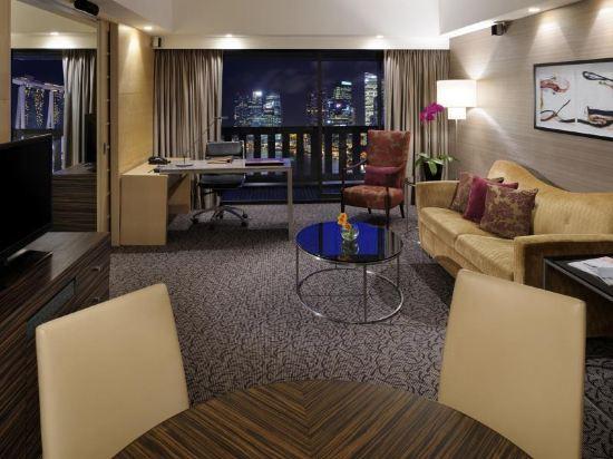 新加坡濱華大酒店(Marina Mandarin Singapore)濱海套房