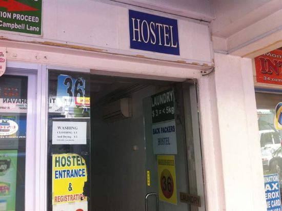 MKS Backpackers Hostel - Campbell Lane Singapore