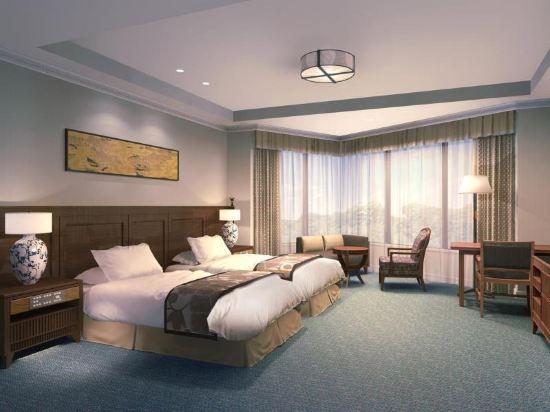 東京椿山莊大酒店(Hotel Chinzanso Tokyo)城景尊貴雙床房(帶spa)