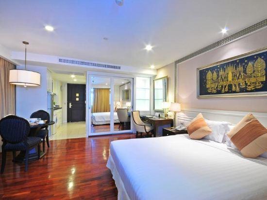 是隆中央酒店(Centre Point Silom)湄南豪華房