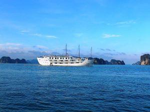 下龍印度支那揚帆巡航船屋(Indochina Sails Cruise Halong)