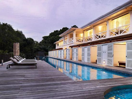 新加坡聖淘沙安曼納聖殿度假酒店(Amara Sanctuary Resort Sentosa)豪華套房-帶陽台