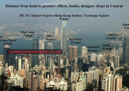 香港蘭桂坊(九如坊)(酒店)(Lan Kwai Fong Hotel Kau U Fong)其他