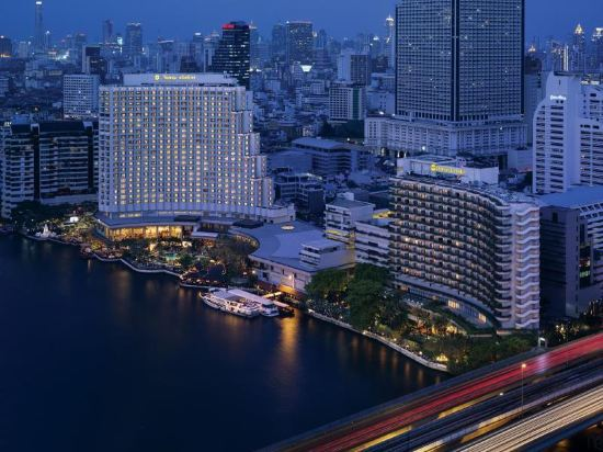 曼谷香格里拉大酒店(Shangri-La Hotel Bangkok)香格里拉樓豪華陽台客房