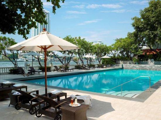 曼谷香格里拉大酒店(Shangri-La Hotel Bangkok)Krungthep樓Krungthep豪華陽台客房