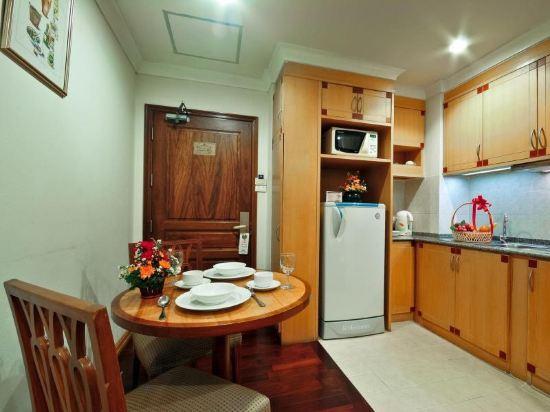 曼谷海軍上將套房酒店(Admiral Suites Bangkok)豪華一室公寓