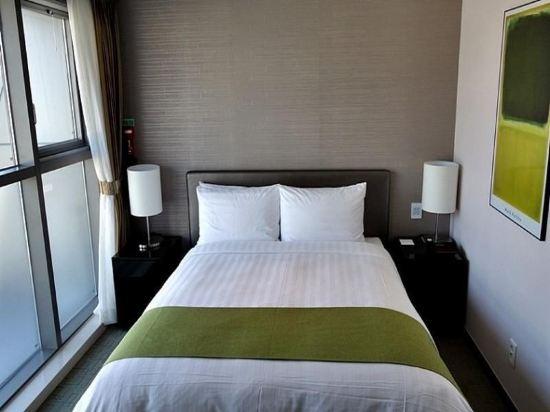 阿文特里釜山酒店(Aventree Hotel Busan)豪華大床房