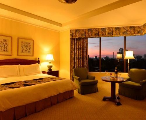 東京椿山莊大酒店(Hotel Chinzanso Tokyo)城景高級房