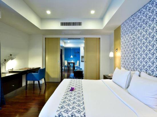 曼谷璀璨服務公寓酒店(Abloom Exclusive Serviced Apartment Bangkok)一卧室尊貴套房