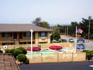 蒙特里貝斯特韋斯特科瑞斯特公園酒店(Best Western Park Crest Inn - Monterey)