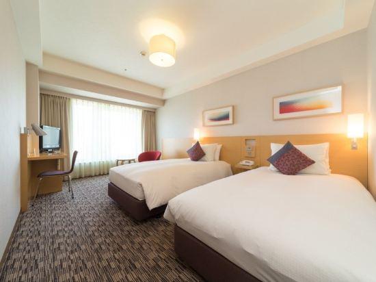 札幌三位神大酒店(Hotel Resol Trinity Sapporo)公園側雙床房