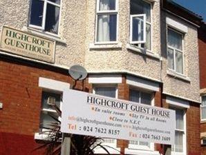 海克羅夫特賓館(Highcroft Guest House)