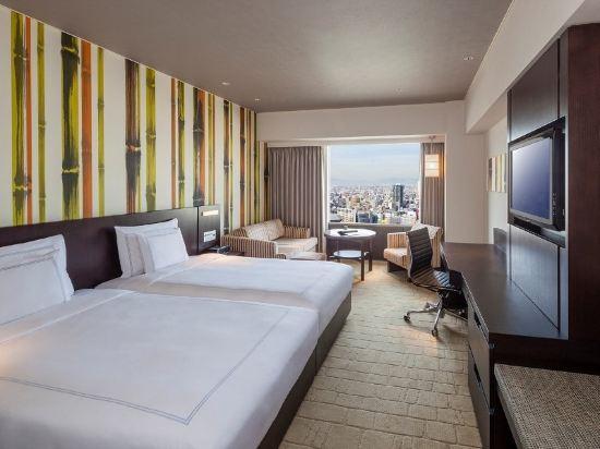 大阪南海瑞士酒店(Swissotel Nankai Osaka)豪華 雙床間