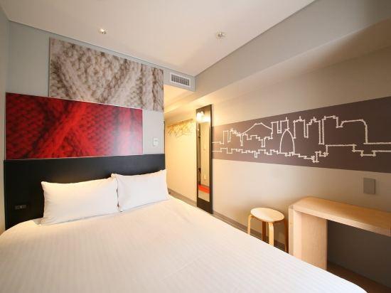 宜必思東京新宿酒店(Ibis Tokyo Shinjuku)翻新雙人床房