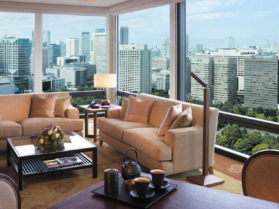 東京半島酒店(The Peninsula Tokyo)豪華客房