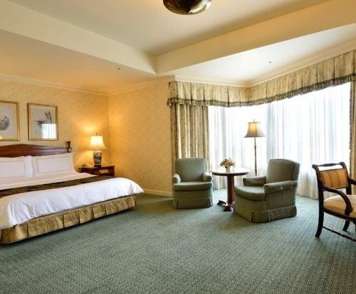 東京椿山莊大酒店(Hotel Chinzanso Tokyo)城景豪華房