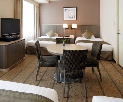 東京東急澀谷卓越大飯店(Shibuya Excel Hotel Tokyu Tokyo)標準四人房