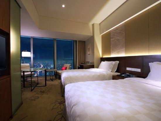 大阪萬豪都酒店(Osaka Marriott Miyako Hotel)Twin Room Club Floor