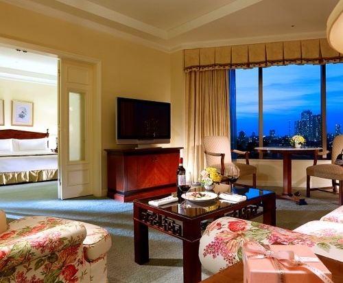東京椿山莊大酒店(Hotel Chinzanso Tokyo)園景豪華房
