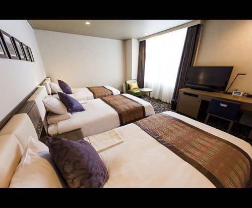 MYSTAYS 札幌中島公園酒店(HOTEL MYSTAYS Sapporo Nakajima Park)標準三人房