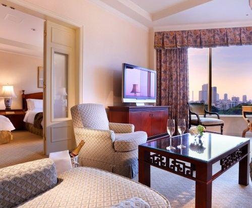 東京椿山莊大酒店(Hotel Chinzanso Tokyo)城景行政套房