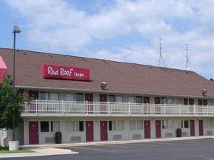 安阿伯 - 密歇根大學南紅屋頂酒店(Red Roof Inn Ann Arbor - University of Michigan South)