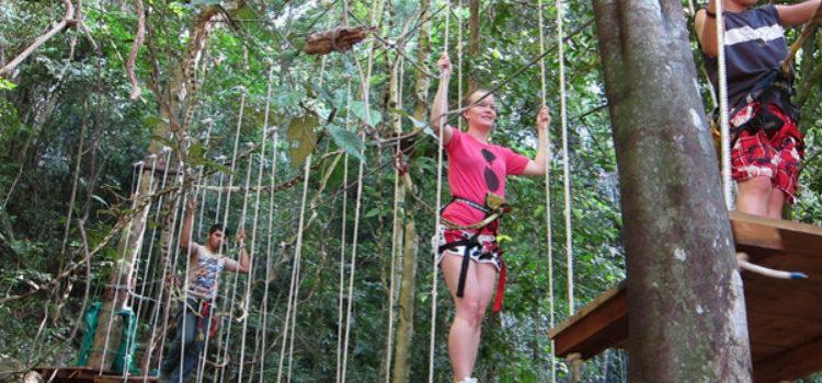 Tree Top Adventure Park Jungle leap1