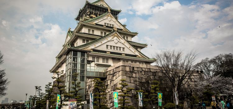 The Main Tower of Osaka Castle2