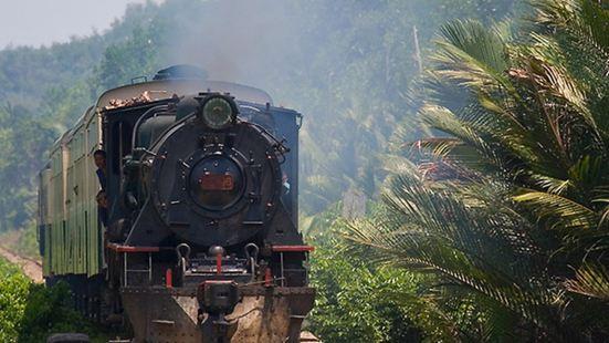 北婆羅洲懷舊蒸汽火車站