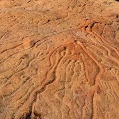 克爾堿岩畫和水系圖用戶圖片
