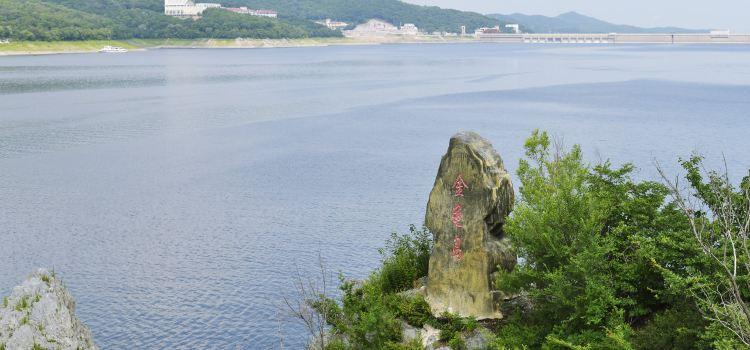 길림 송화호 풍경명승구2