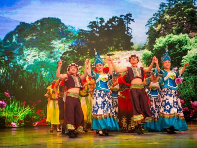 Colorful Guizhou Style Performance