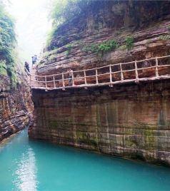 林州游记图文-幽幽峡谷深,怡情山水间