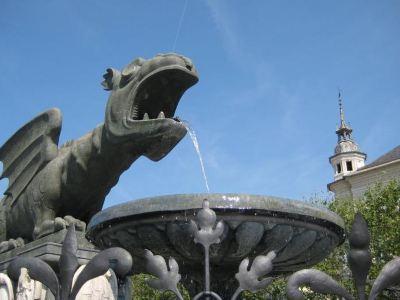Lindwurmbrunnen