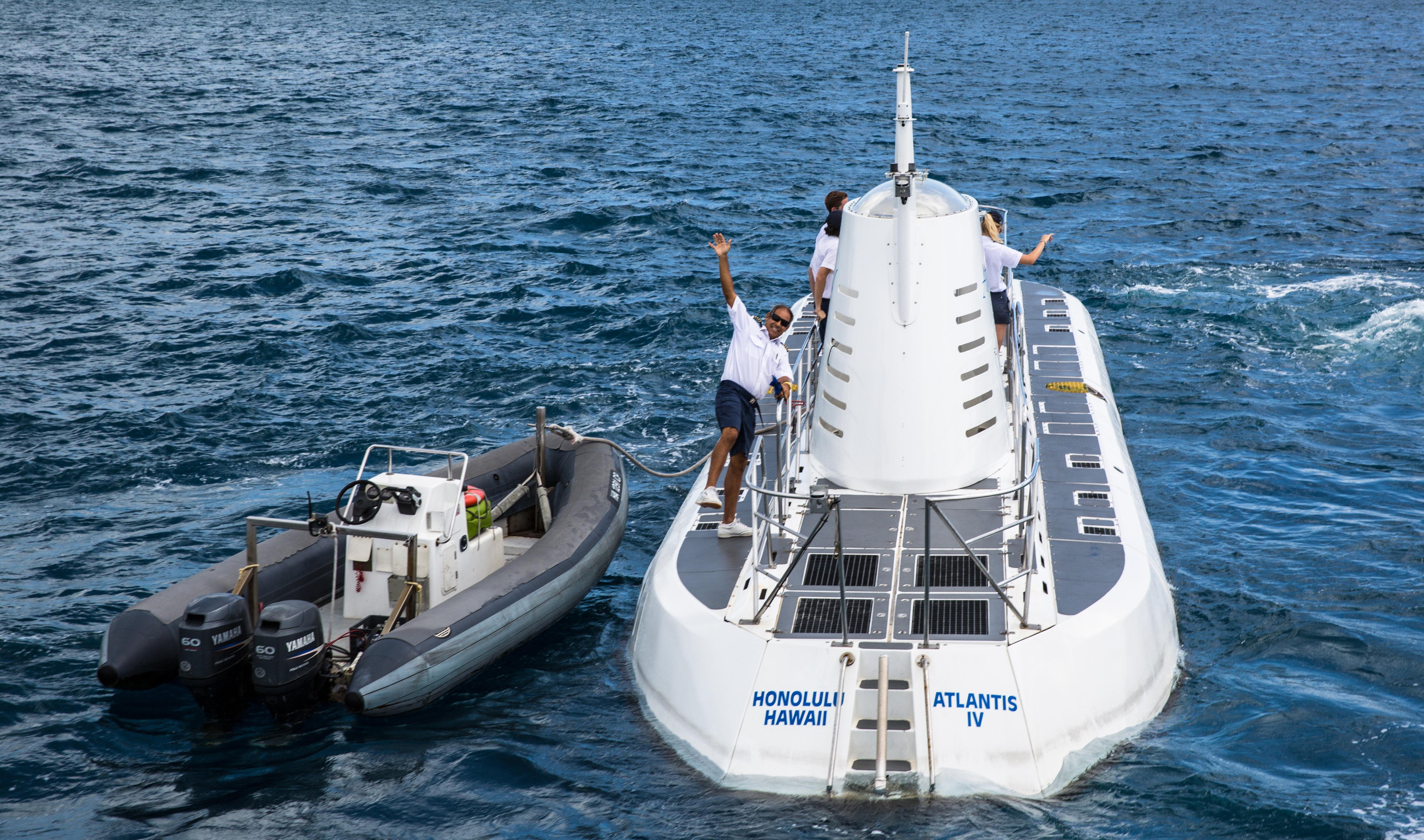 亞特蘭蒂斯號潜水艇(48座/64座)