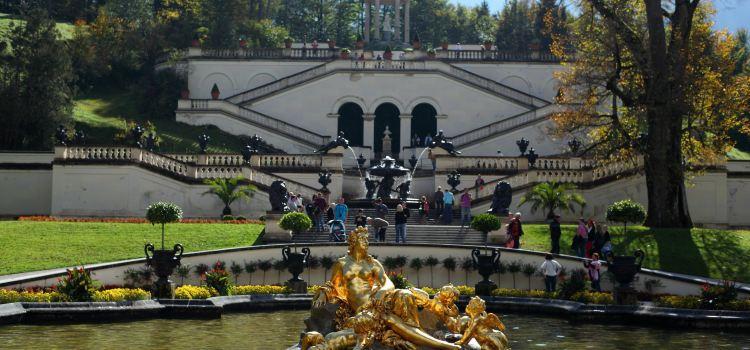 Schlosspark Linderhof1