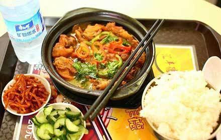 滙豐德黃燜雞米飯