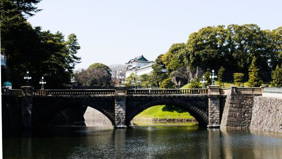 Imperial Palace Main Gate Stone Bridge
