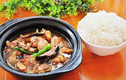 楊銘宇黃燜雞米飯(張公山白馬店)