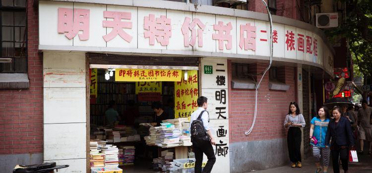 Shanghai Fuzhou Road Cultural Street1