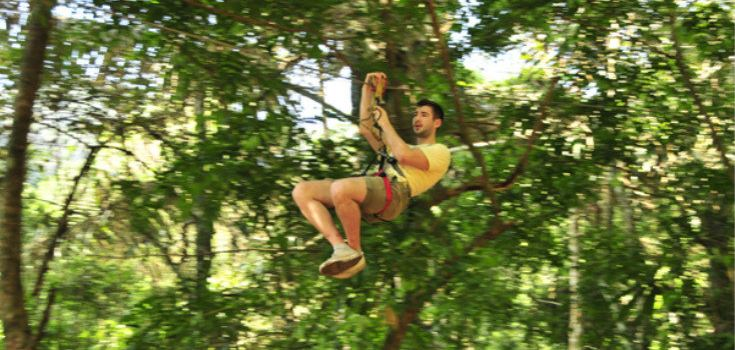 Tree Top Adventure Park Jungle leap2
