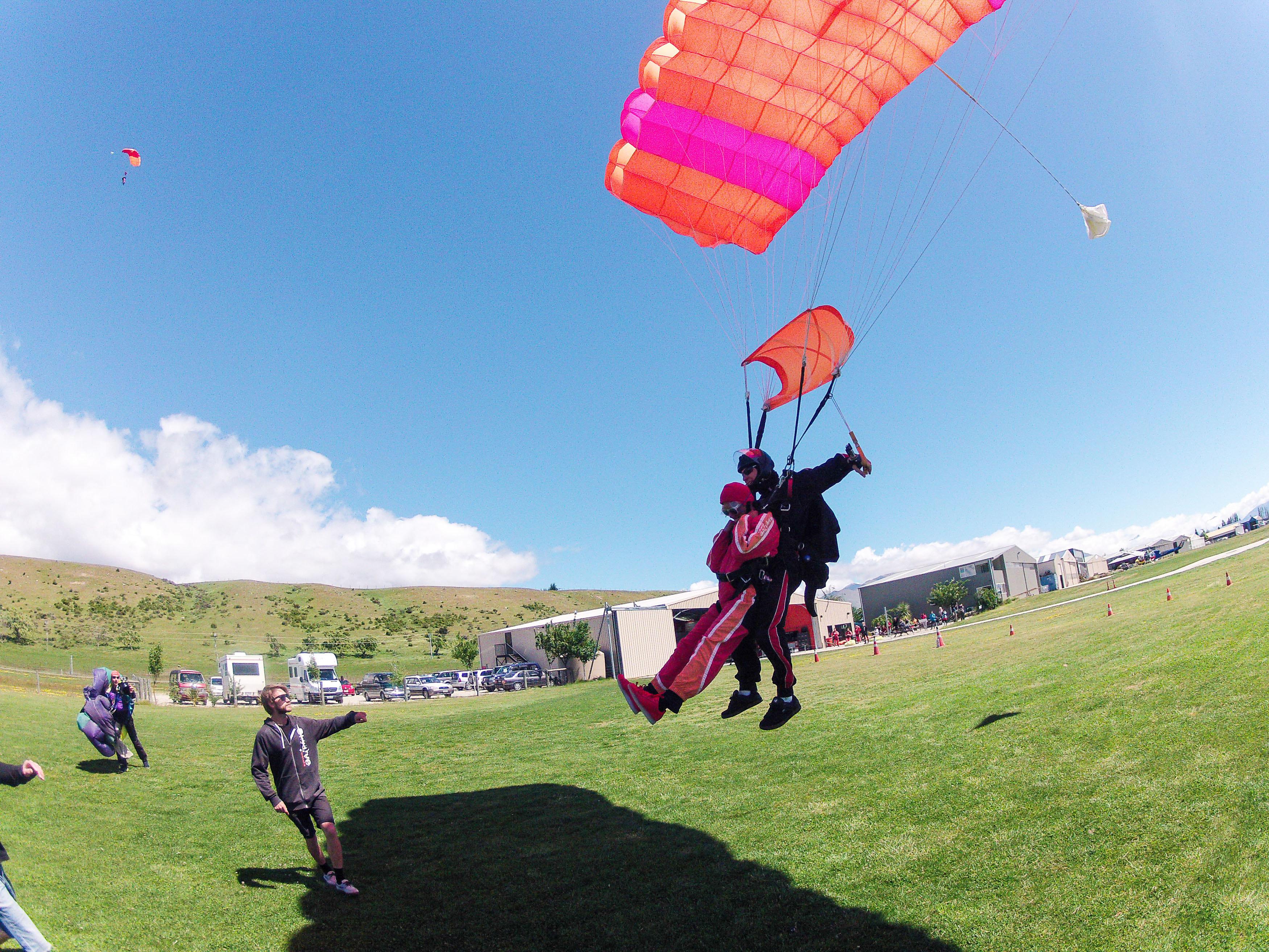 Queenstown NZONE Skydive