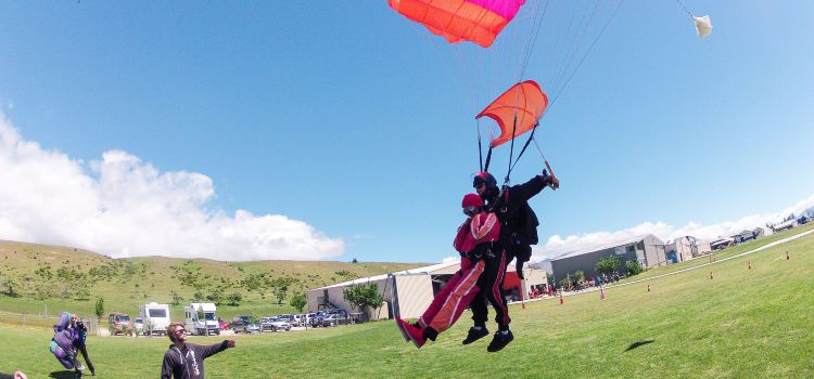 Queenstown NZONE Skydive2