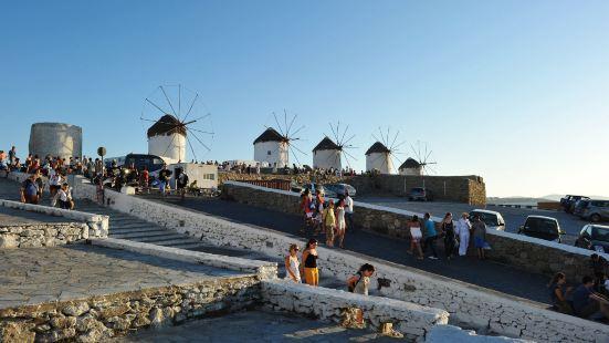 Mykonos windmills