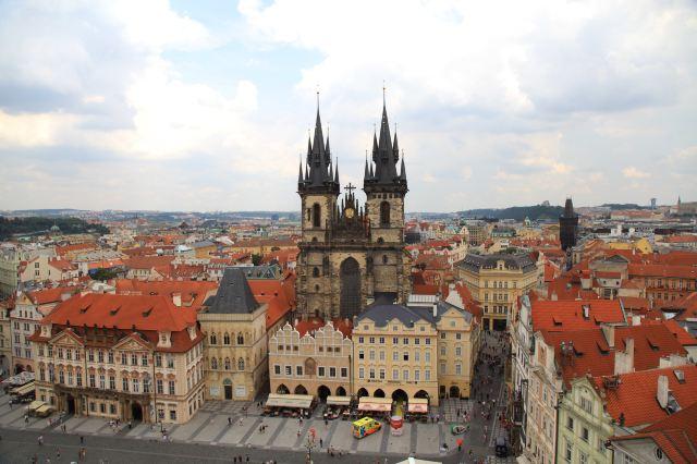 布拉格沒有許願池,但有這些必打卡的精美建築等你來看