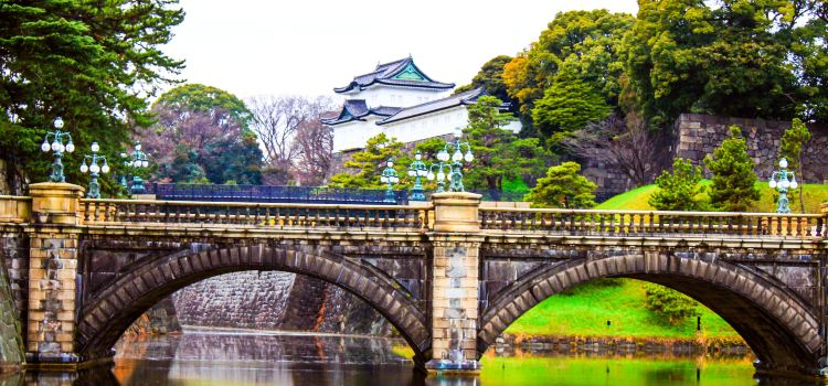Imperial Palace Main Gate Stone Bridge3