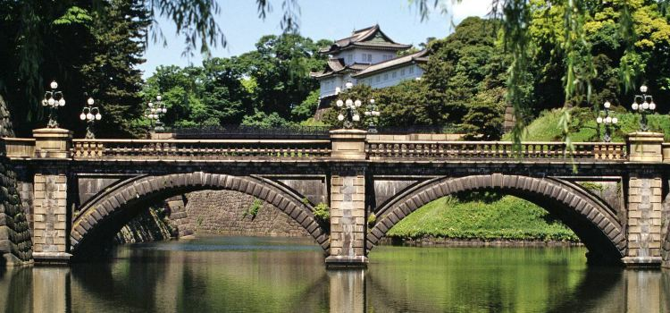 Imperial Palace Main Gate Stone Bridge1