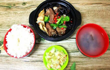 昊研黃燜雞米飯