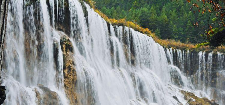 諾日朗瀑布2